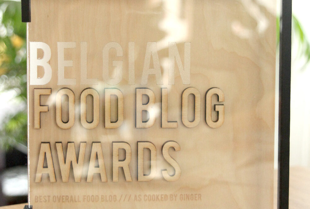 Belgian food blog awards