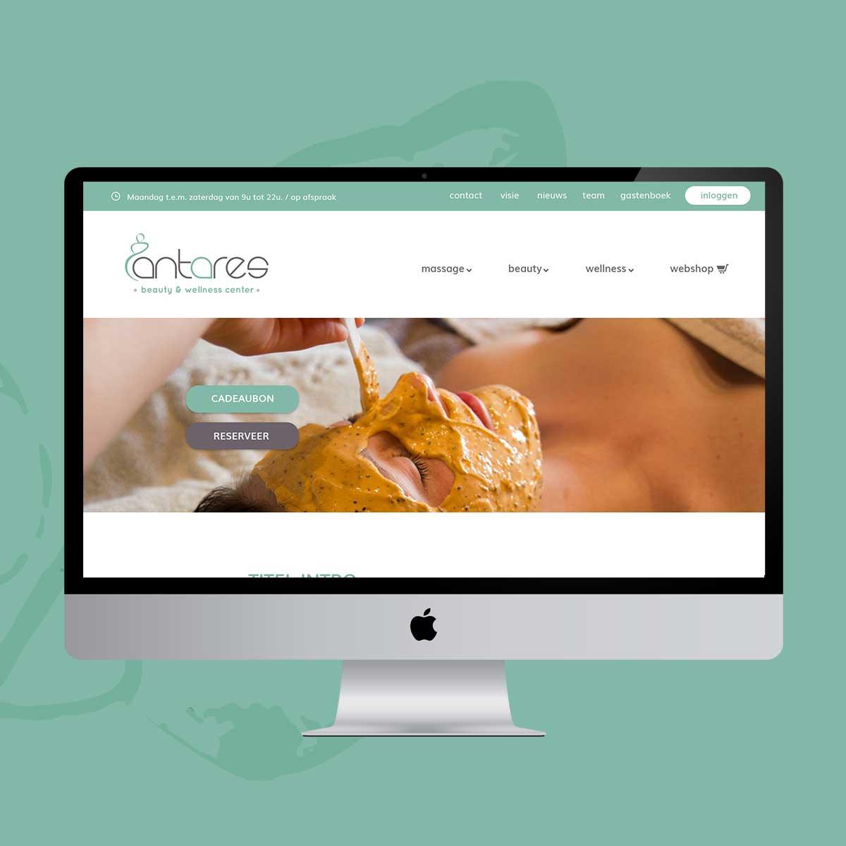 webdesign antares wellness