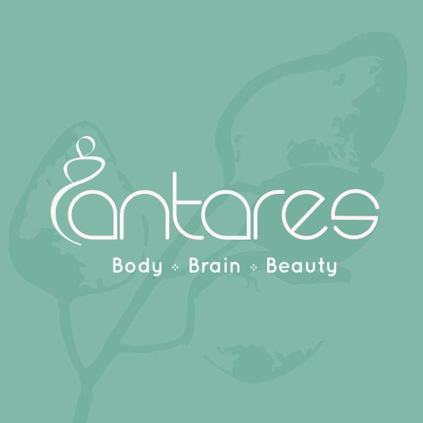 Logo wit Antares Wellness